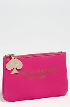 kate spade new york 'coin a phrase - cha ching' coin purse