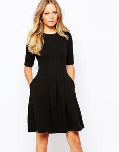Image 1 ofWhistles Jersey Flippy Dress