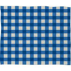 Holli Zollinger Gingham Fleece Throw Blanket | DENY Designs Home Accessories