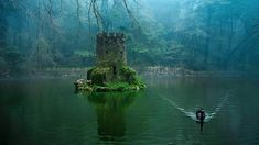 The hidden castle at the Quinta da Regaleria in Sintra, Portugal Sintra Portugal, Spain And Portugal, Portugal Travel, Portugal Trip, Places To Travel, Places To See, Parque Natural, Famous Castles, Photos Of The Week