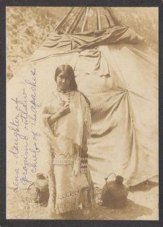 LENNA GERONIMO , DAUGHTER OF GERONIMO