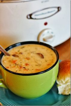 Amazing Turkey and Wild Rice Soup {Slow Cooker Adaption}  You should probably make this ASAP!