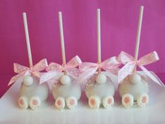 Bottoms Up Bunny Cakepops By Cakepopsecia.blogspot