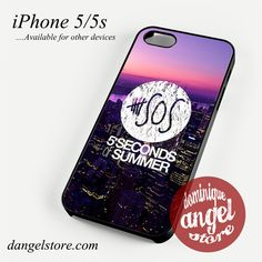5 seconds of summer city logo Phone case for iPhone 4/4s/5/5c/5s/6/6 plus