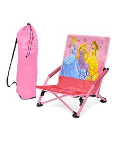 Look at this #zulilyfind! Disney Princess Folding Lounge Chair by Disney Princess #zulilyfinds