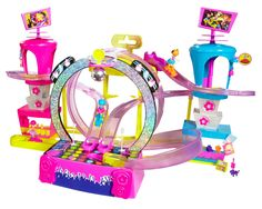 $25 Polly Pocket Race to the Concert Playset
