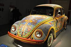 Vochol – The VW Bug decorated with more than 2 million glass beads