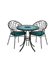Florina Table & 2 Chairs