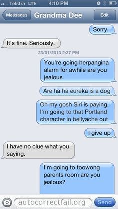 Autocorrect Fail   Hilarious Auto Correct blunders and funny texts and messages from your mobile phone!