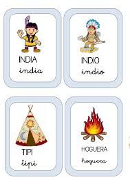 Resultado de imagen de fichas proyecto indios para infantil Spanish Lessons Online, Learn Spanish Online, Learning Spanish, Spanish Immersion, Around The World In 80 Days, Indian Party, Matching Games, Cowboys, Free Printables