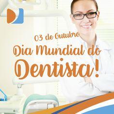 Hoje parabenizamos todos os profissionais do Sorriso, que trabalham todos os dias pela nossa saúde bucal! Parabéns, Dentistas. 3 de Outubro, dia Mundial do Dentista! #DistribuirSorrisos #DentalMedSul #Odontologia #ProdutosOdontológicos #Dental #Dentistas