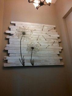 Otra original forma de reciclar maderas