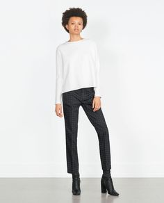 ZARA - COLLECTION SS16 - SKINNY TROUSERS