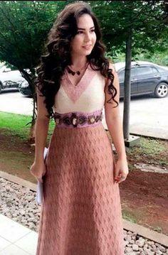 Vestido Hebreia, personagem  Adélia, A terra Prometida novela. Costume Brazilian Soap Opera.