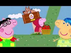 Peppa pig en caperucita roja | Videos en español | juegos para niños HD