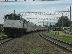 Argo Jati Train in 81 Crossing, with CC 206 loc (CM 20EMP)