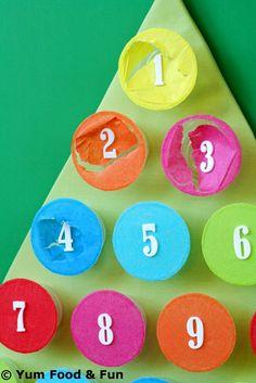 Christmas Countdown Calendar: Kids Crafts Ideas for Christmas