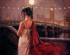 City of Women: Mark Spain Paintings - AmO Images - AmO Images