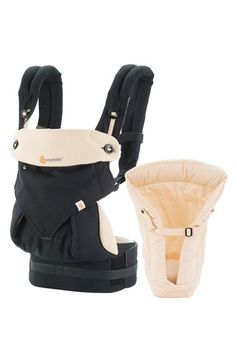 ERGObaby+'360+-+Bundle+of+Joy'+Baby+Carrier+&+Infant+Insert+available+at+#Nordstrom