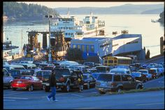 Washington State Ferries reservations, starting 2015  Westbound vehicle reservations are available from Anacortes to San Juan (Friday Harbor), Orcas, Shaw and Lopez islands.  Eastbound reservations are available from San Juan (Friday Harbor) and Orcas islands to Anacortes.