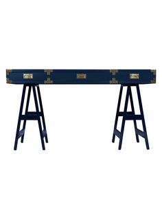 Lacquer Study Desk from Midcentury-Inspired Office Furniture on Gilt