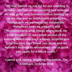 Accolade DJs (@accoladedjs) • Instagram photos and videos October Wedding, Our Wedding, Songs, Photo And Video, Videos, Photos, Instagram, Pictures, Song Books