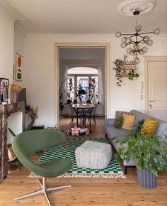 Living Room Inspo, Interior, Home, House Rooms, House Interior, Apartment Decor, Apartment Inspiration, Interior Design, Home And Living