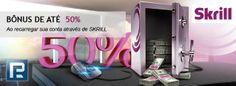 """Incrível 50% de bônus no depósito via sistema de pagamento Skrill Deposite em sua conta de negociação através do sistema de pagamento Skrill (Moneybookers) e receba superbônus. A Companhia RoboForex está introduzindo uma nova promoção """"Bônus de até 50%"""". Basta fazer depósitos em sua conta de negociação através do sistema de pagamento Skrill (Moneybookers) e receber bônus de até 50% do total do seu depósito!"""
