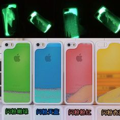 Hot Luminous Glow in the Dark Flowing Quicksand Liquid Drift Sand Hard Cover Shell Case for iPhone 5s 5 4S 4 Free Shipping-in Phone Bags & Cases from Electronics on Aliexpress.com | Alibaba Group
