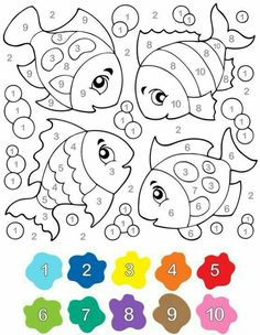 Coloring pages for kids educational coloring pages free printable coloring pages for kids kindergarten preschool – BuzzTMZ Preschool Learning, Kindergarten Worksheets, Preschool Activities, Teaching, Coloring For Kids, Coloring Pages, Coloring Sheets, Color By Numbers, Math For Kids