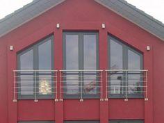französischer Balkon aus Edelstahl, Preis per laufenden Meter