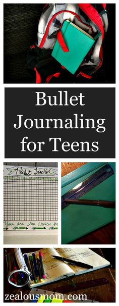 If you know a teen or college student who is struggling to get organized, the Bullet Journal may be the answer. This system is not only for adults. This post offers tips and suggestions to tailor a Bullet Journal to your teen's life. #BulletJournal #BuJo #organizingateenager #organization