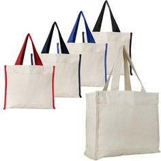 fec0cf70b1 Wholesale Canvas Tote Bags with Front Pocket