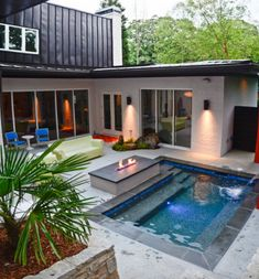 8 modern outdoor fire pits
