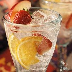 This refreshing Spanish beverage is a perfect starter for any festive gathering./