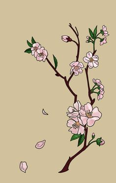 Cherry Blossoms Tattoo by *bookstoresue on deviantART