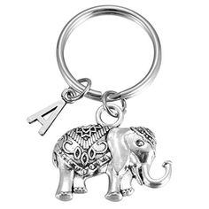 Discover Initial Elephant Charm Keychain Elephant Keyring Elephant Lover Accessory Strength Friendship Gift for Girls Women. Explore our Boys Fashion section featuring new #shopping ideas of the best collection of #BoysFashion #BoysAccessories and #fashion products online at #Jodyshop Marketplace. Elephant Keychain, Easter Presents, Boys Accessories, Friendship Gifts, Online Fashion Stores, Gifts For Girls, Boy Fashion, Initials, Strength