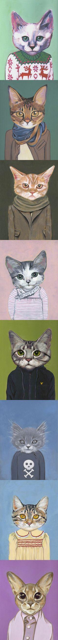 Heather Mattoon. Cats.