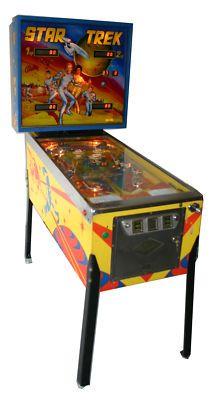 I had a pinball machine in my basement