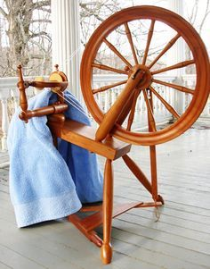 Spinning wheel spa: How to care for and maintain your spinning wheel. . .
