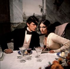 Still from The Leopard (1963), directed by the great Luchino Visconti, with Claudia Cardinale