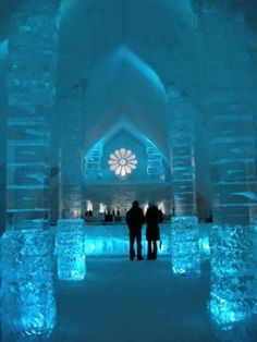 Ice Hotel Glace ~ Quebec, Canada