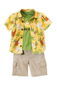 So Magnum PI for my little man!  Gymboree