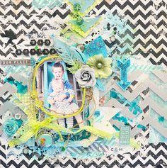 The Best Big Brother *Scraps of Elegance Guest Designer* - Scrapbook.com