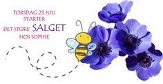 Ta en titt i bloggen vår å se noe av det flotte som kommer på SALG fra torsdag 23/7 Blogging