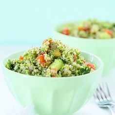 Broccoli Quinoa Salad Recipe {Gluten-Free}