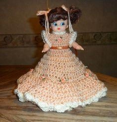 Air Freshener Dolls to Crochet | crochet air freshener doll by donnascraftcorner on Etsy