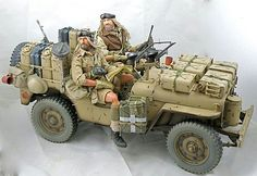 SAS North Africa WWII Jeep, Military Vehicles, Monster Trucks, Jeeps