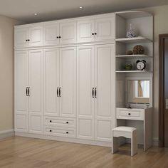 Wardrobe Interior Design, Wardrobe Door Designs, Bedroom Closet Design, Bedroom Furniture Design, Bedroom Built In Wardrobe, Wardrobe Furniture, Wardrobe Cabinets, Bedroom Cupboard Designs, Bedroom Cupboards