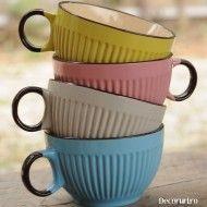 Cani pentru ceai sau ciocolata calda. Trademan Suedia Mugs, Tableware, Dinnerware, Tumblers, Tablewares, Mug, Dishes, Place Settings, Cups